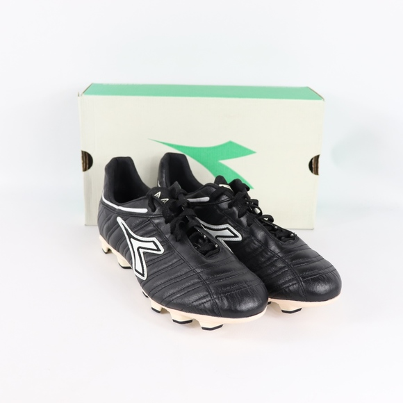 0bc9b4f2 Vintage New Diadora Mens K Leather Soccer Cleats NWT